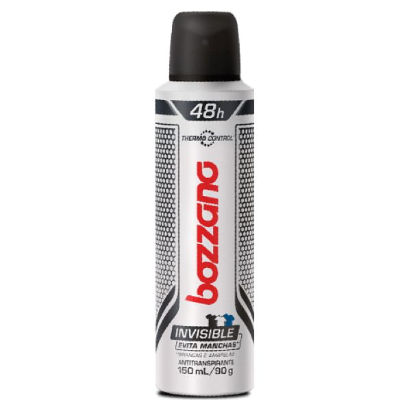 Desodorante Bozzano Invisible Thermo 150ml Aerosol