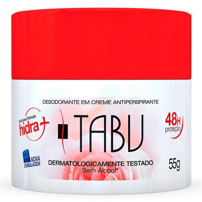 Desodorante Creme Tabu Tradicional 55g