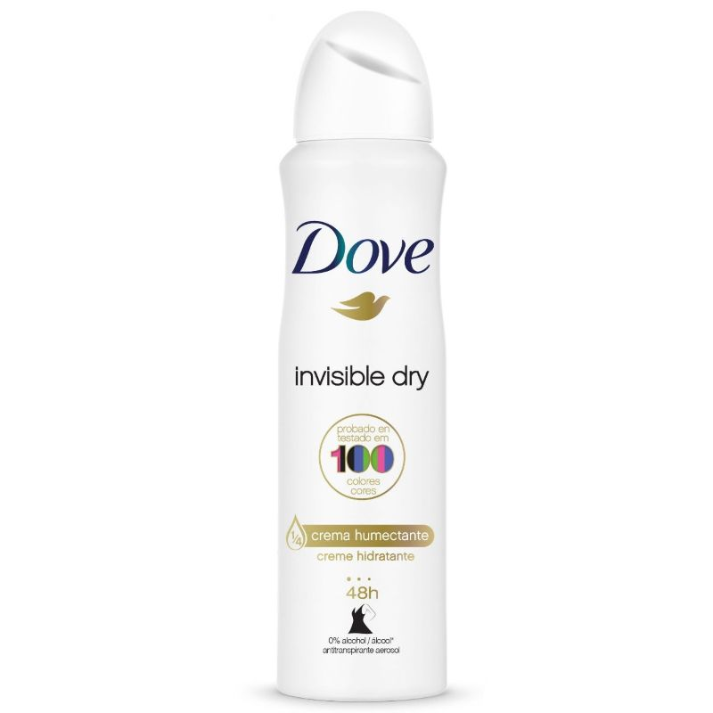 Desodorante Dove Aerosol Invisible Dry 150ml