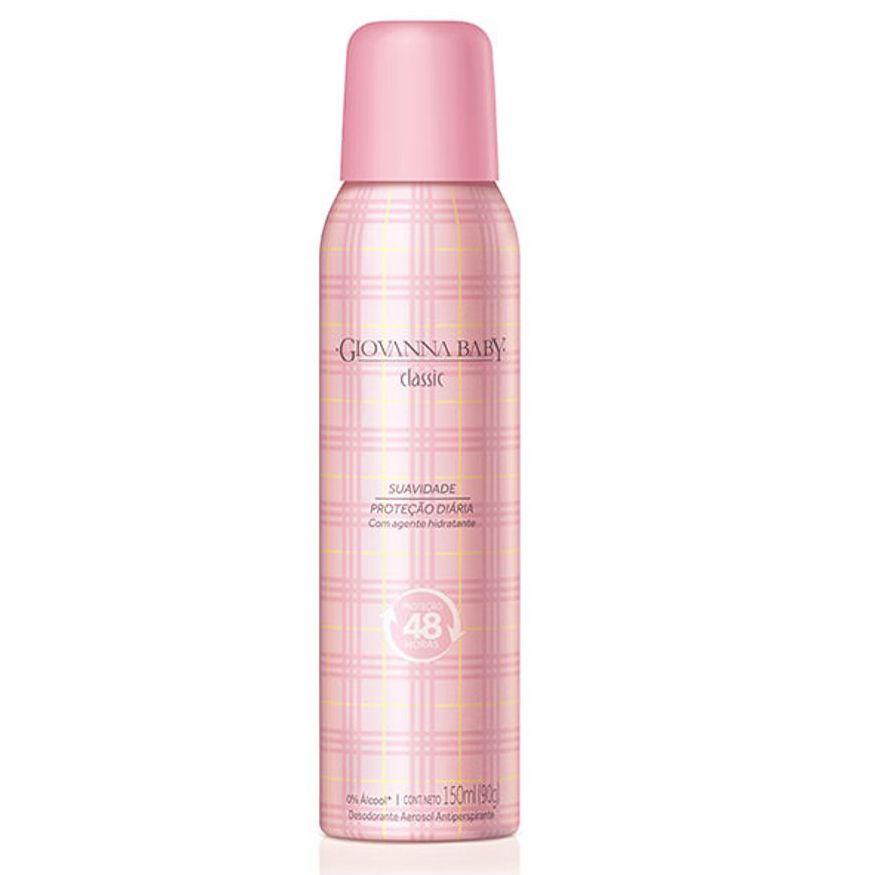 Desodorante Giovanna Baby Aerosol Classic 150ml