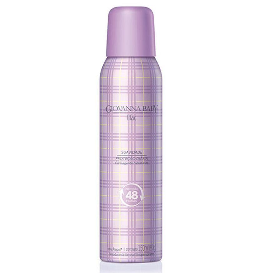 Desodorante Giovanna Baby Aerosol Lilac 150ml