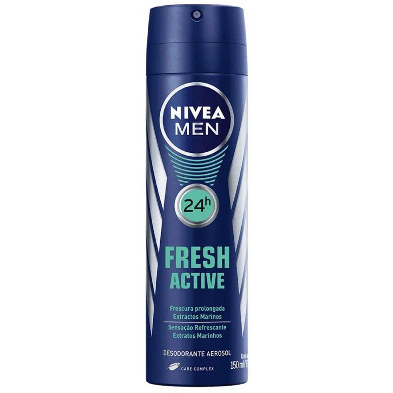 Desodorante Nivea Aerosol Men Fresh Active 150ml