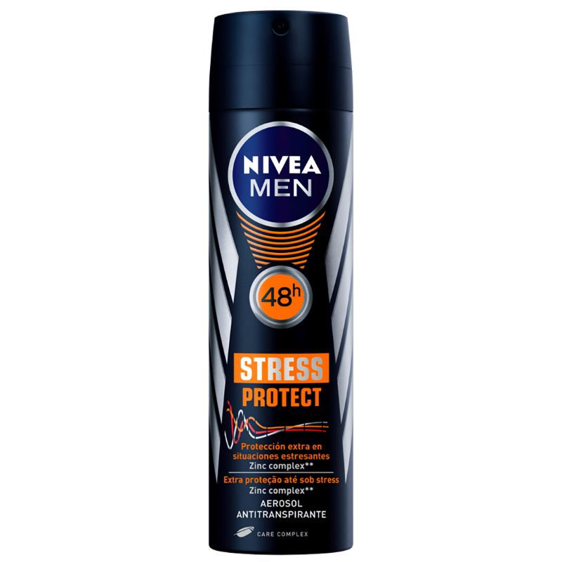 Desodorante Nivea Aerosol Men Stress Protect 150ml