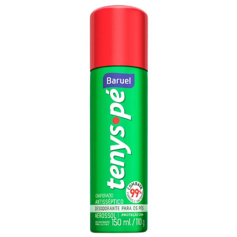 Desodorante para os Pés Tenys Pé Aerosol Canforado 150ml  - Sofí Cosméticos