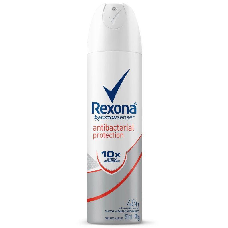 Desodorante Rexona Aerosol Antibacterial 150ml