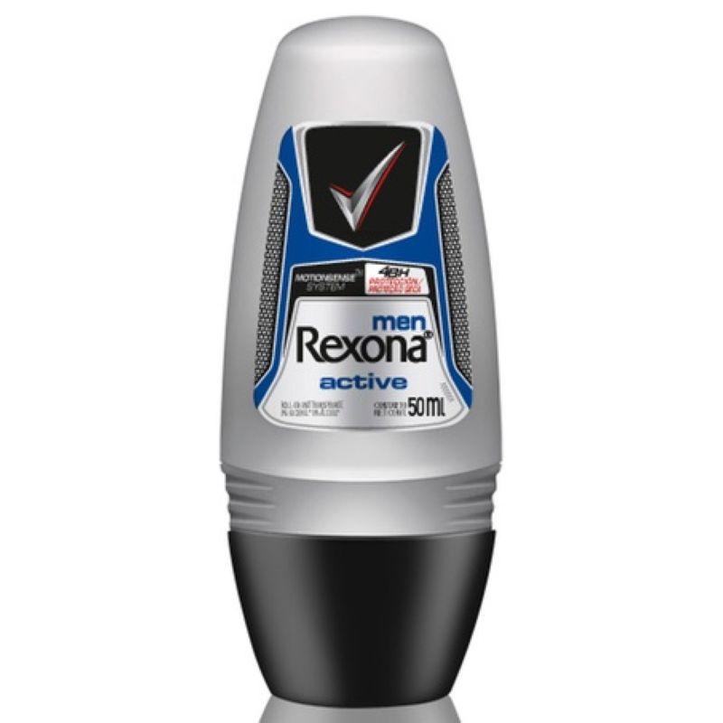 Desodorante Rexona Roll-on Men Active 50ml  - Sofí Cosméticos