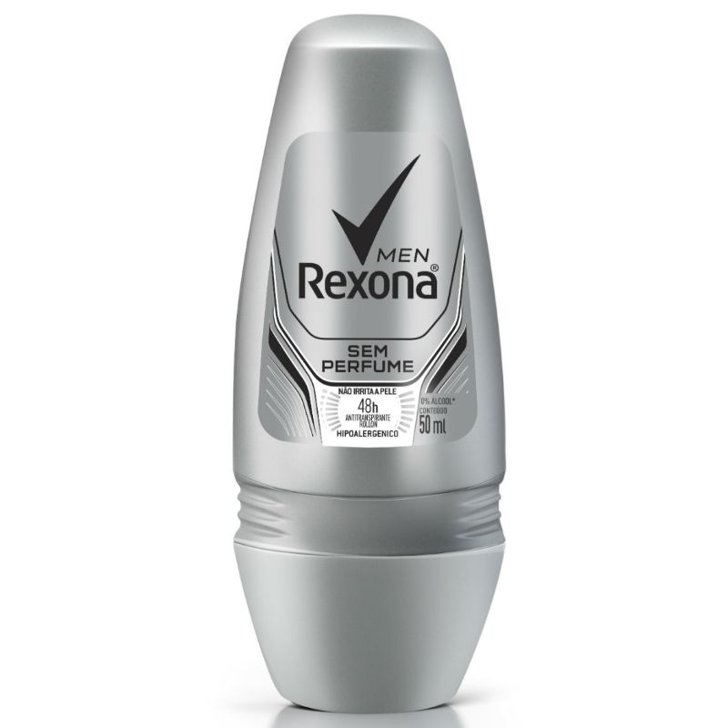 Desodorante Rexona Roll-on Men Sem Perfume 50ml