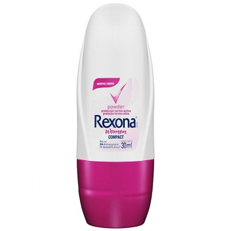 Desodorante Rexona Roll-on Compact Powder 30ml