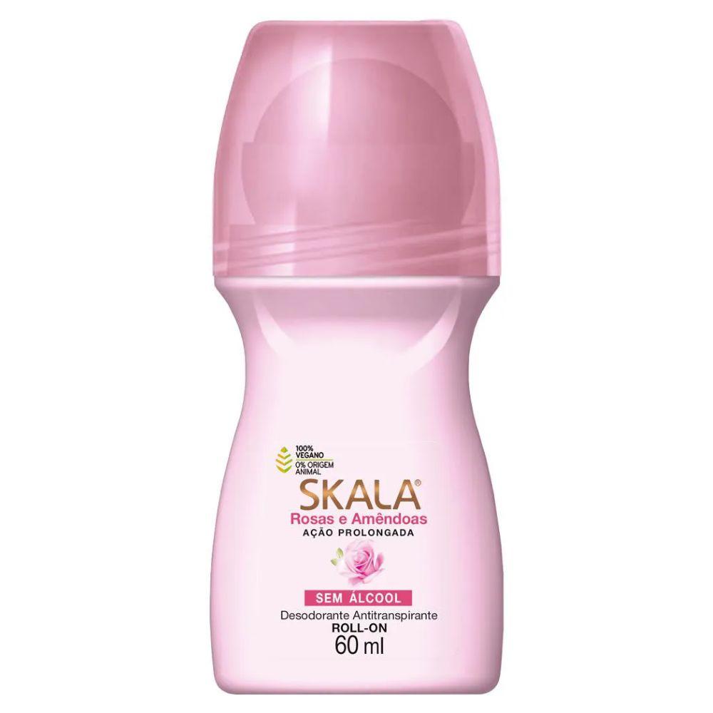 Desodorante Roll-on Skala Rosas e Amêndoas 60ml