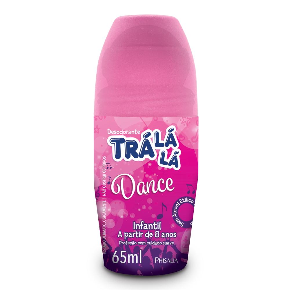 Desodorante Trá Lá Lá Kids Roll-on Dance