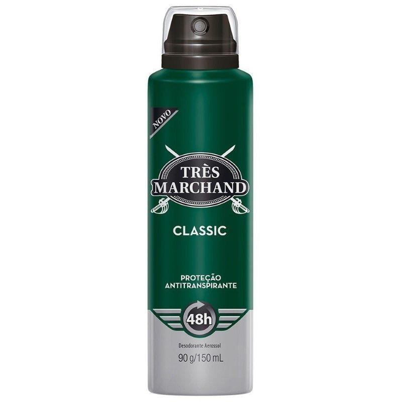 Desodorante Tres Marchand Aerosol Classic 150ml