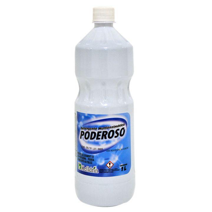 Detergente Multi Enzimático Poderoso 1 Litro