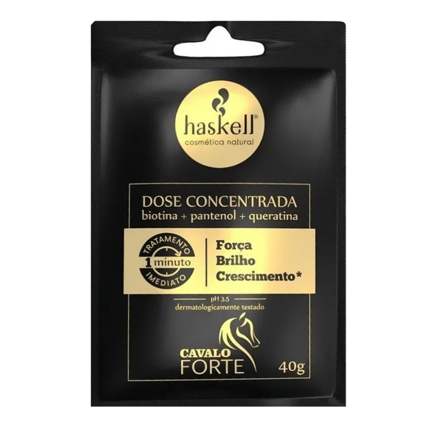 Dose Concentrada Haskell Cavalo Forte Sache 40g