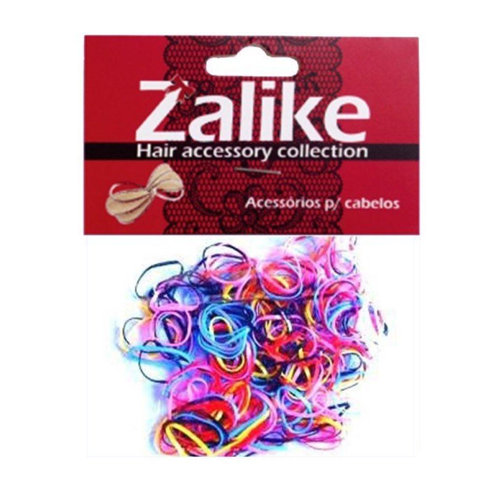 Elástico de Silicone Zalike Fino Colorido Ref 212C 1g