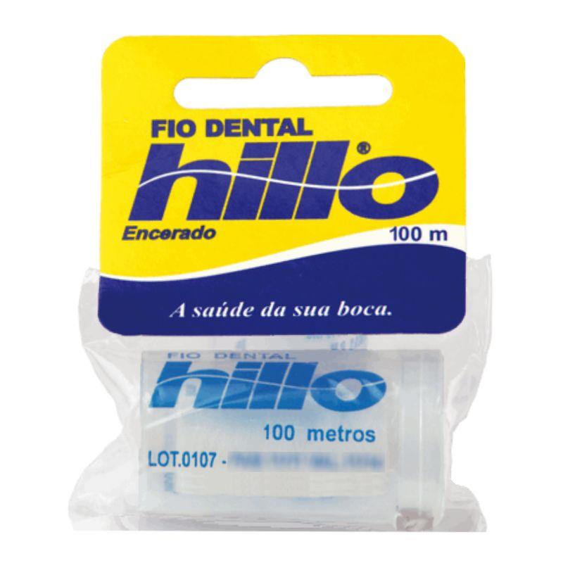 Fio Dental Hillo Encerado 100m