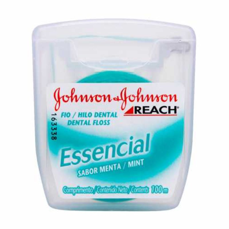 Fio Dental Johnson&Johnson Reach Essencial 100m