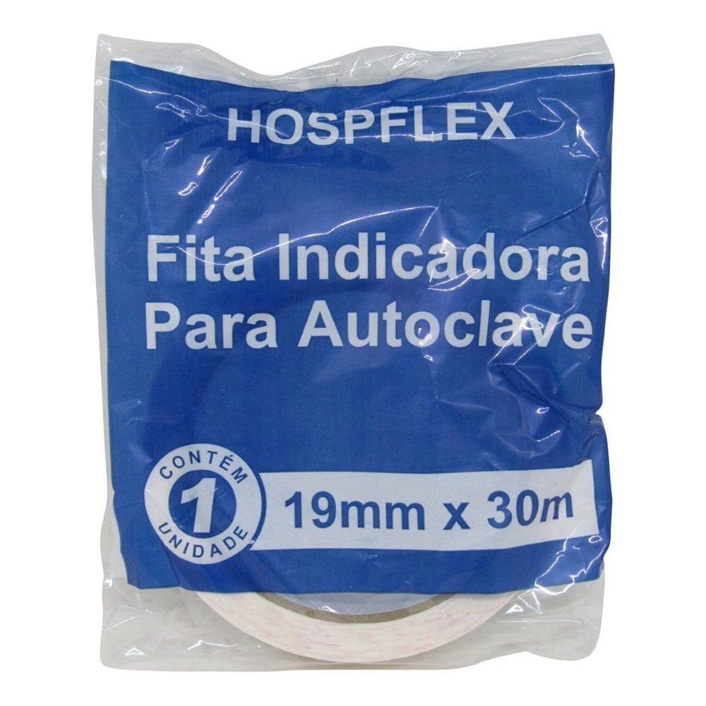 Fita Adesiva Indicadora para Autoclave Hospflex 30m