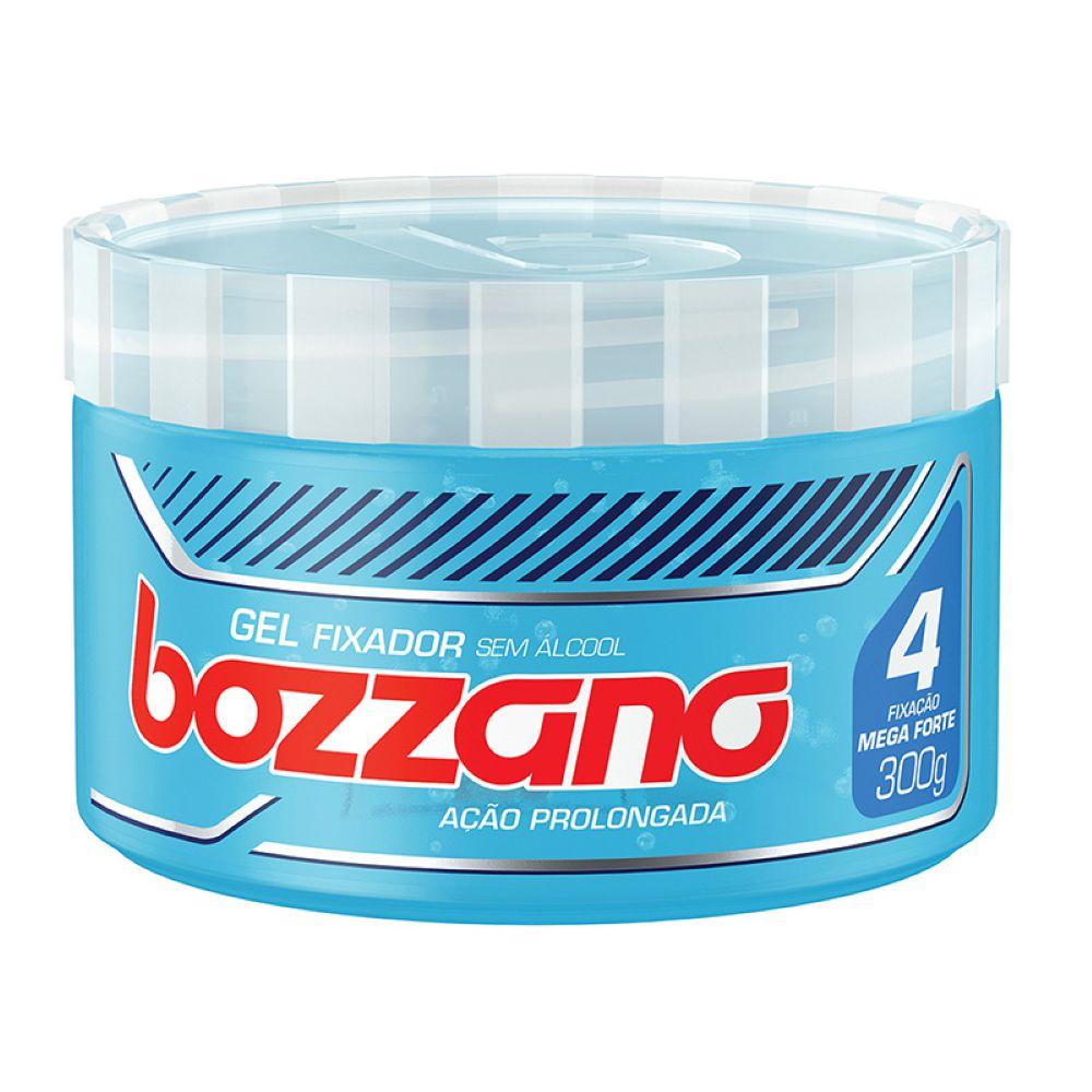 Gel Fixador Bozzano Mega Forte Fixação 4 300g