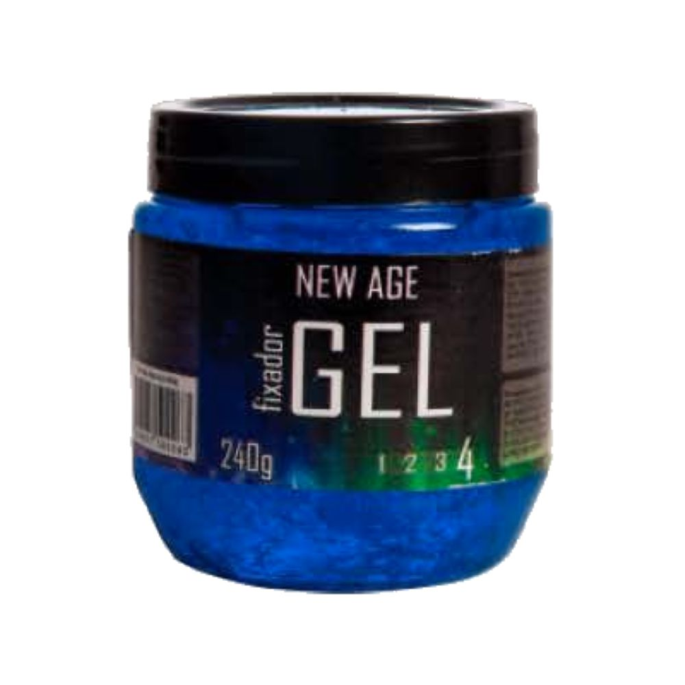 Gel Fixador New Age Azul 4 240g