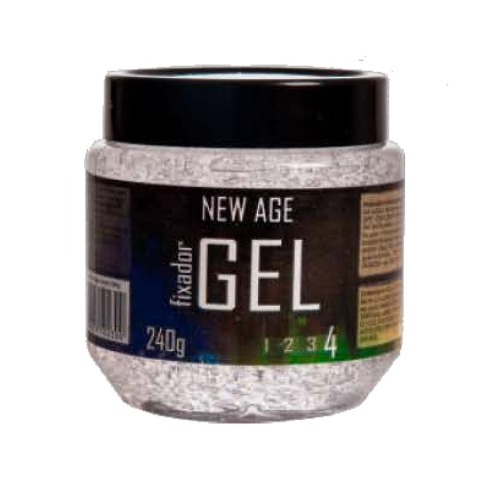 Gel Fixador New Age Incolor 4 240g