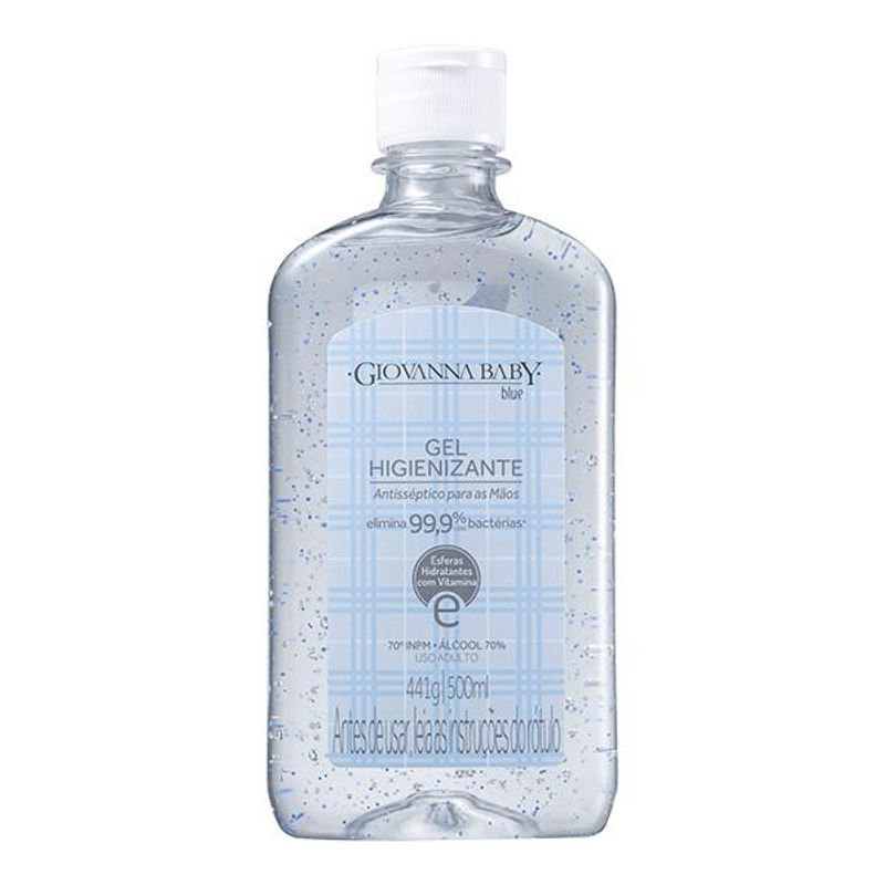 Gel Higienizante Giovanna Baby Blue 500ml