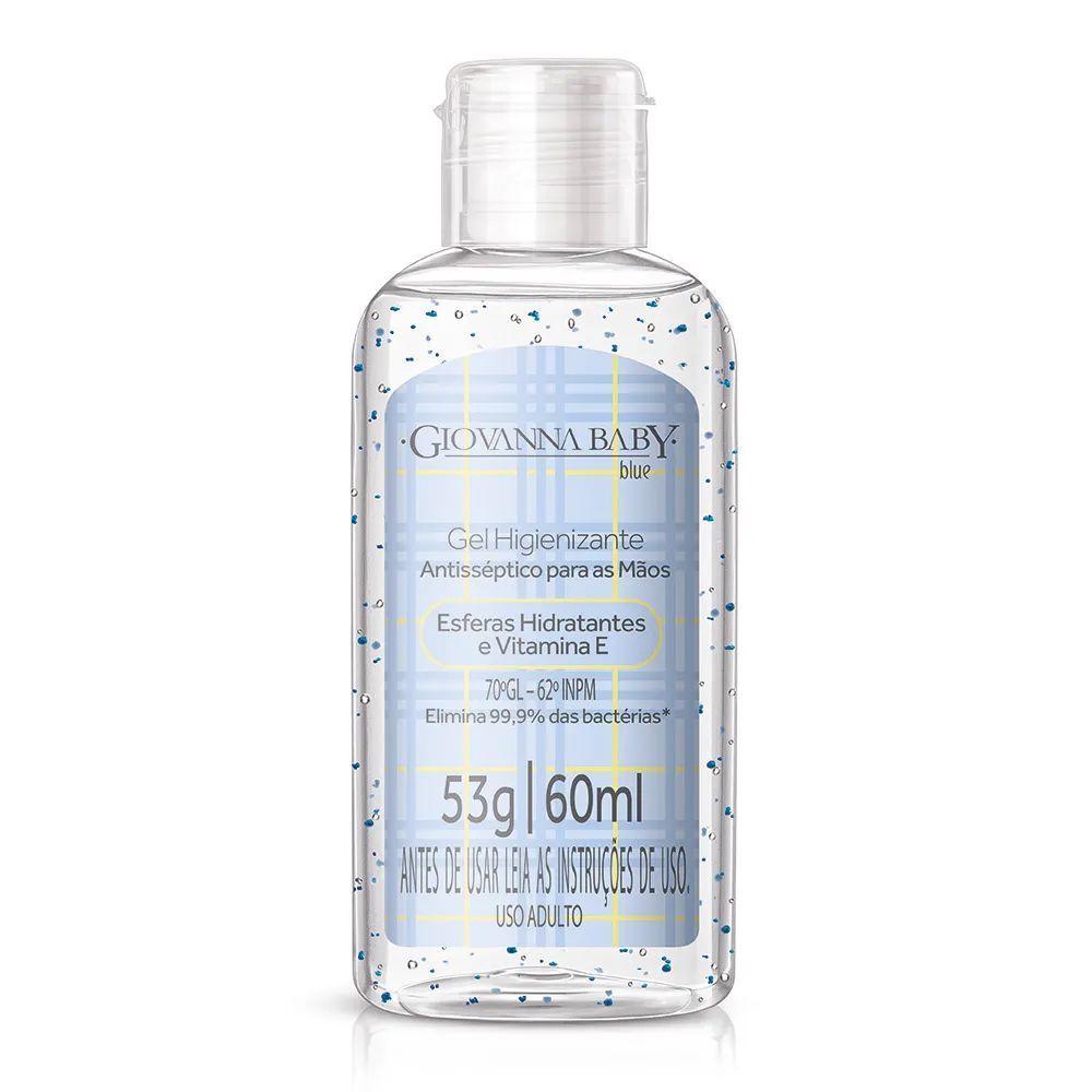 Gel Higienizante Giovanna Baby Blue 60ml