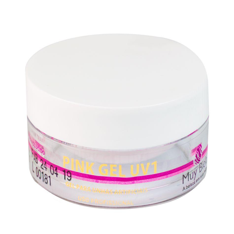 Gel uv1 Pink Translúcido Muy Biela 30g