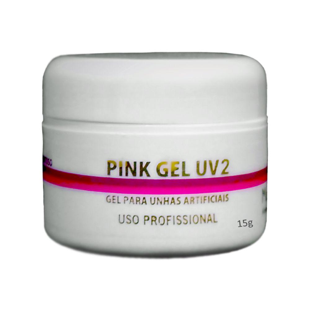Gel Uv2 Pink Leitoso Muy Biela 15g