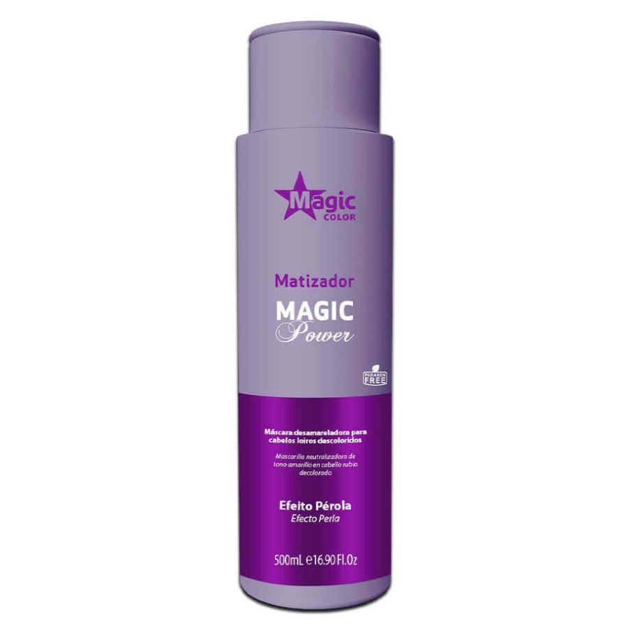 Gloss Matizador 3D Magic Color Power Efeito Pérola 500ml