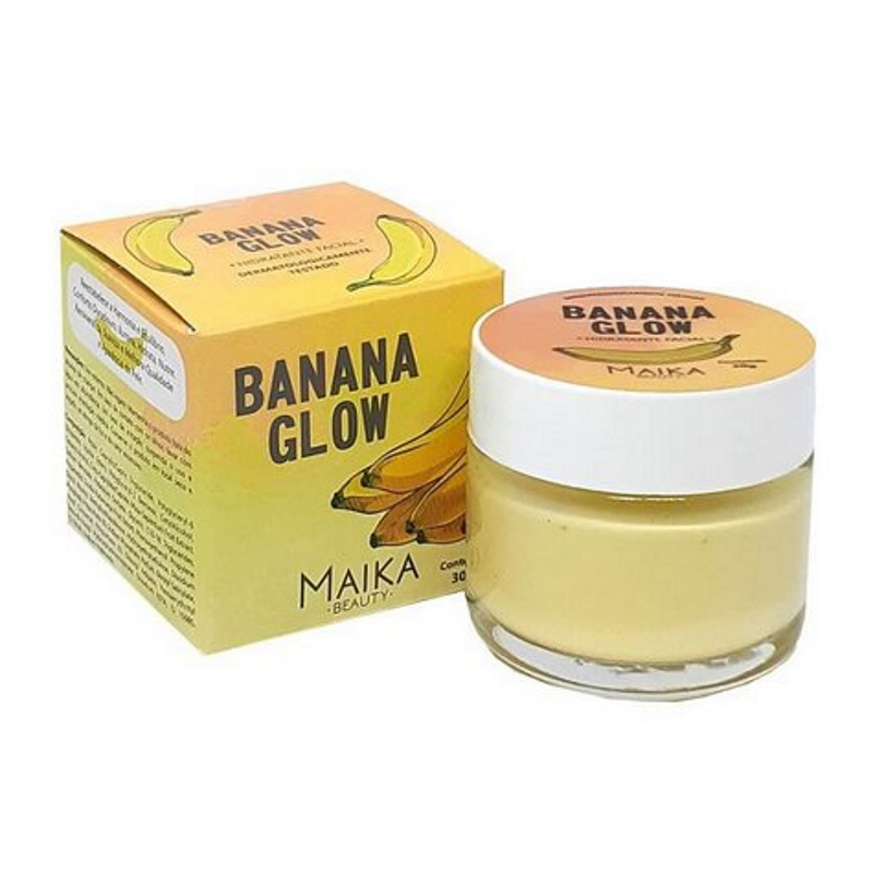 Hidratante Facial Maika Banana Glow 30g