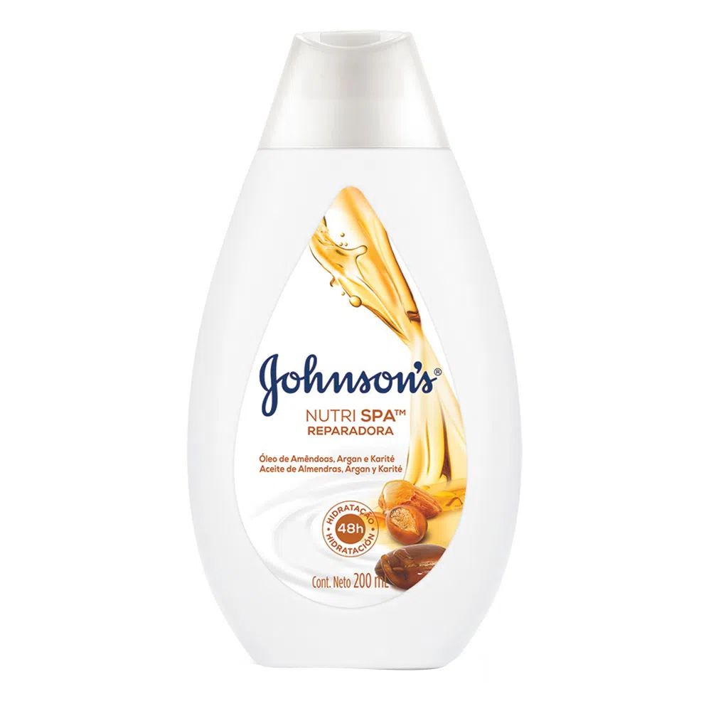 Hidratante Johnson s Reparadora 200ml