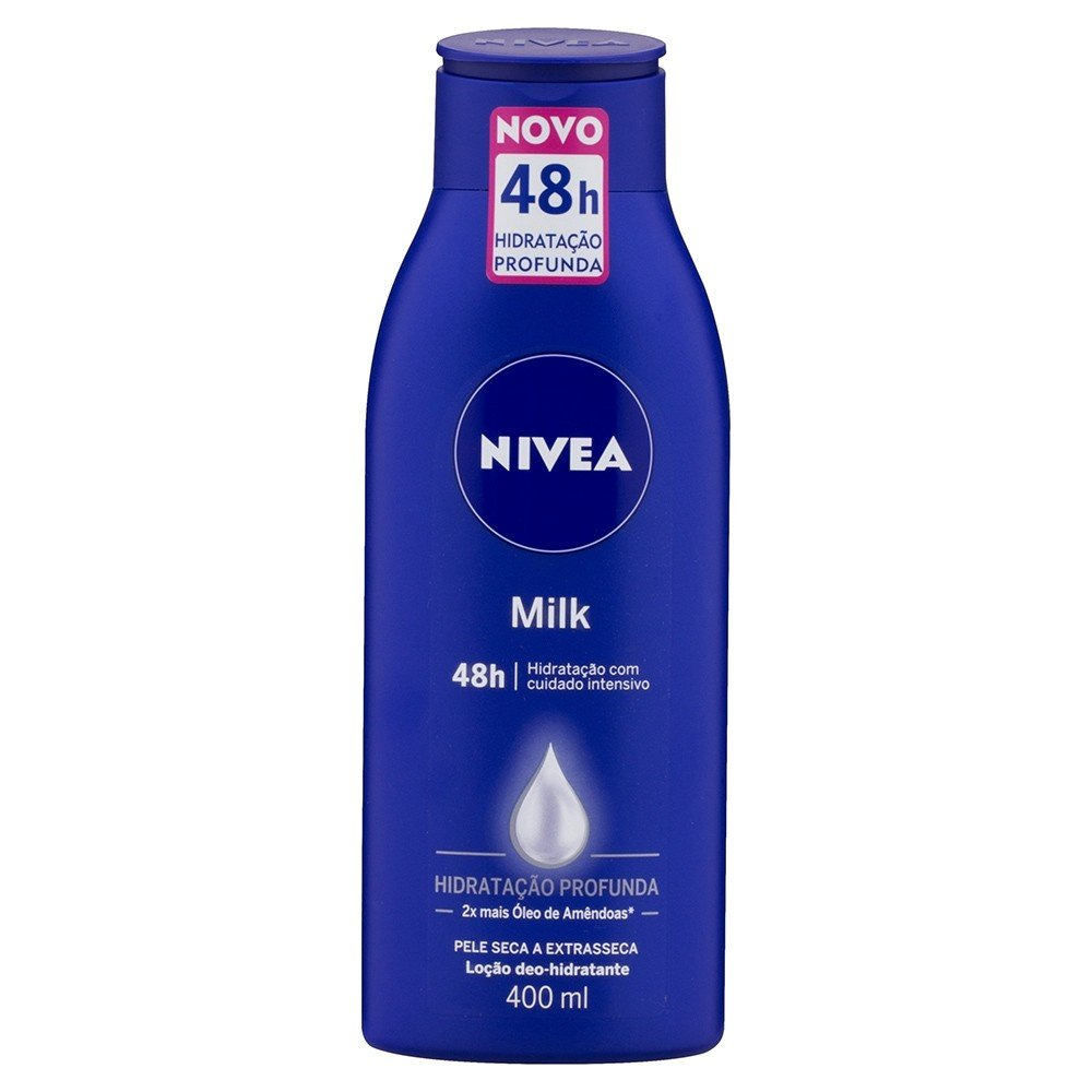 Hidratante Nivea Milk 400ml