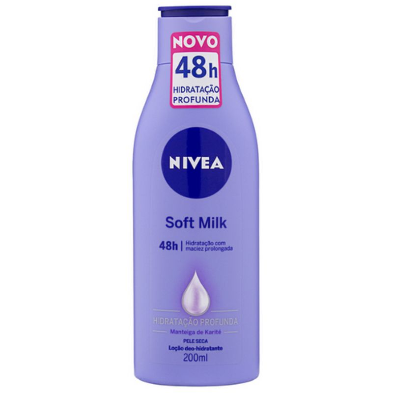 Hidratante Nivea Soft Milk 200ml