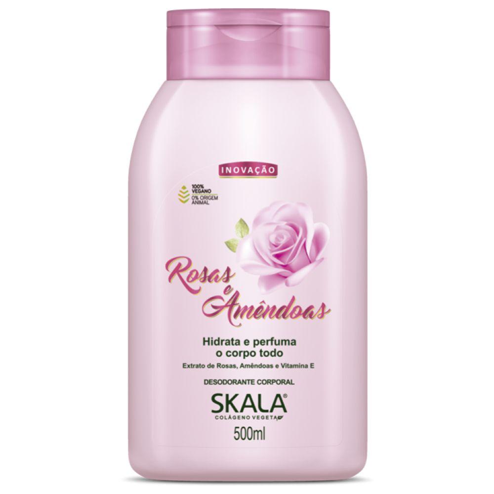 Hidratante Skala Rosas e Amêndoas 500ml