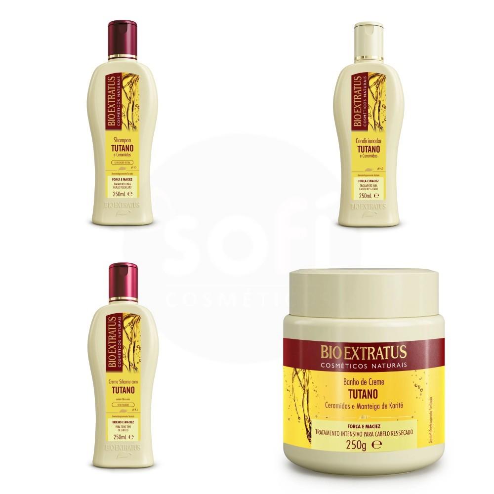 Kit Bio Extratus Tutano e Ceramidas 4 produtos