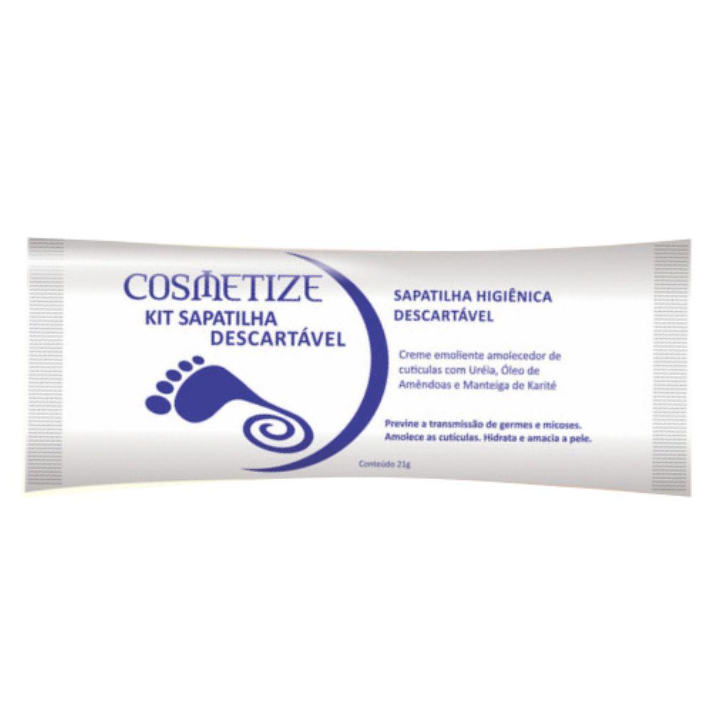 Kit Sapatilha Higiênica Emoliente Cosmetize