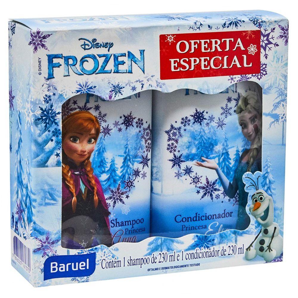 Kit Shampoo e Condicionador Frozen