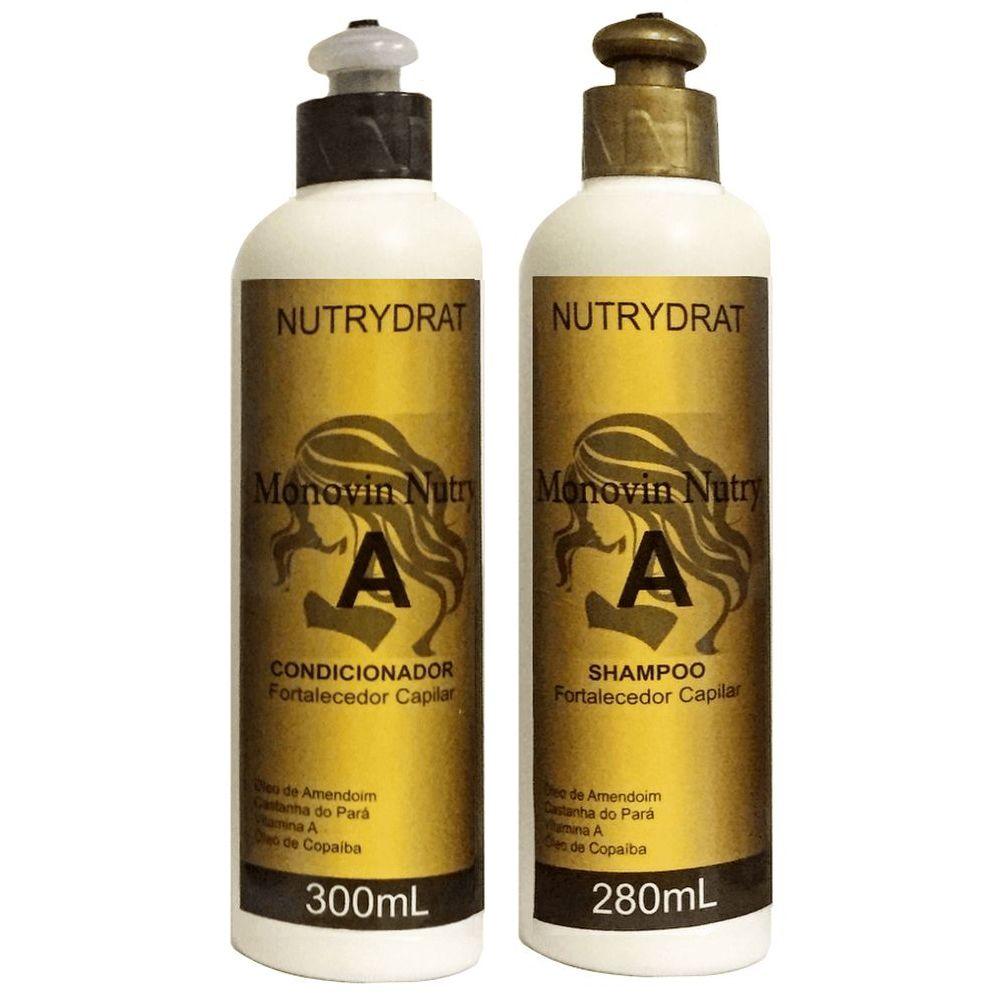 Kit Shampoo e Condicionador Monovin Nutry A