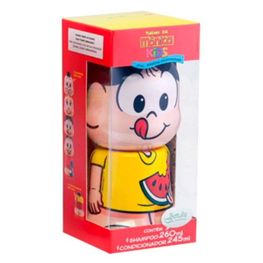 Kit Turma da Monica Shampoo e Condicionador Magali