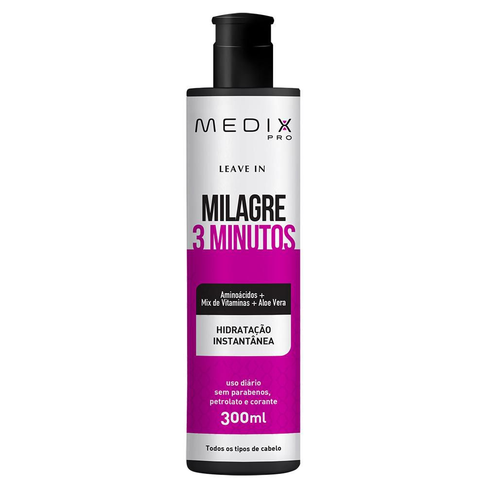 Leave in Medix Pro Milagre 3 Minutos 300ml
