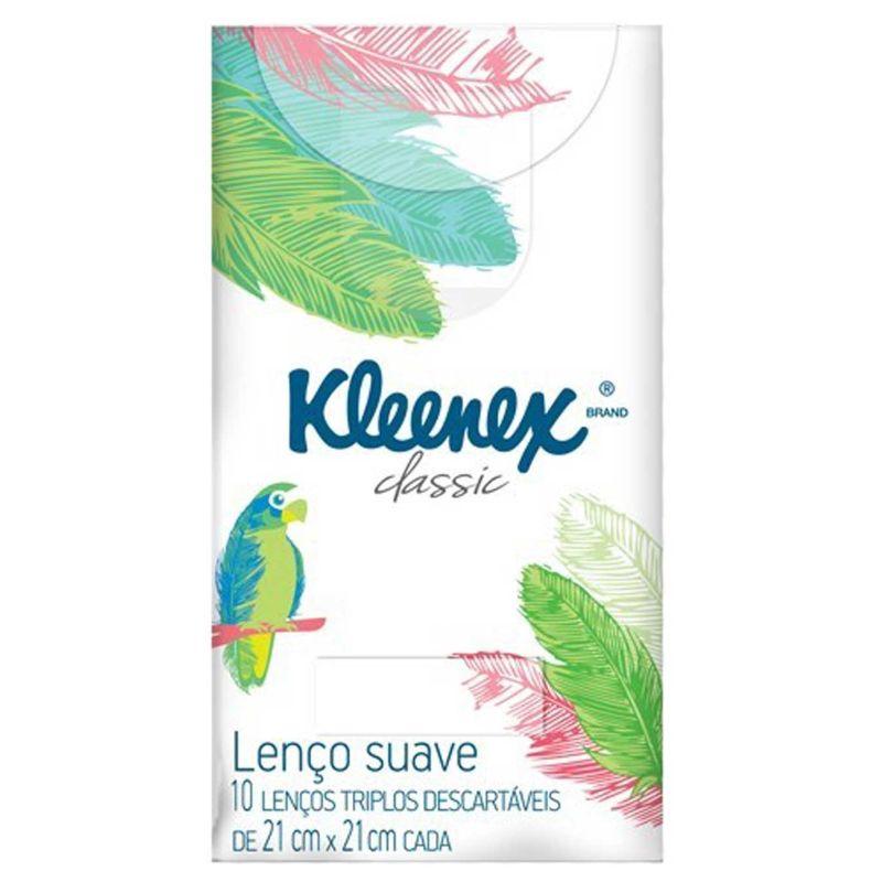 Lenço de papel Kleenex 10un