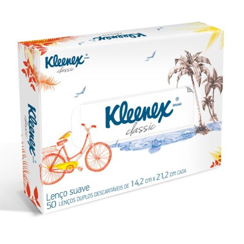 Lenço de papel Kleenex 50un