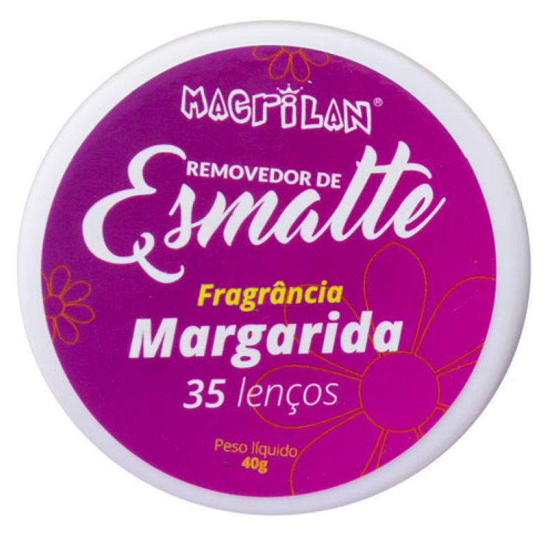 Lenços Removedores De Esmalte Macrilan Margarida 35Un