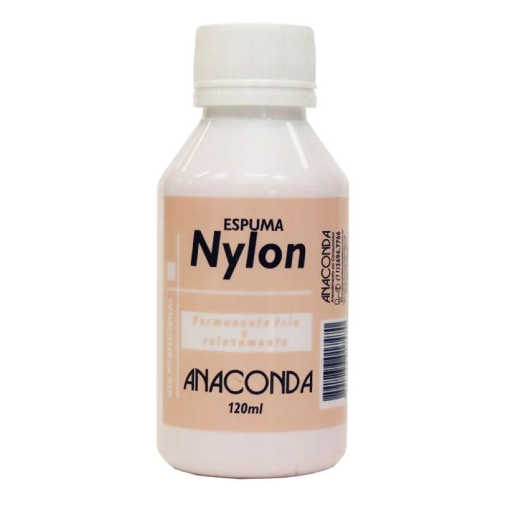 Líquido para Permanente Espuma Nylon Anaconda 120ml