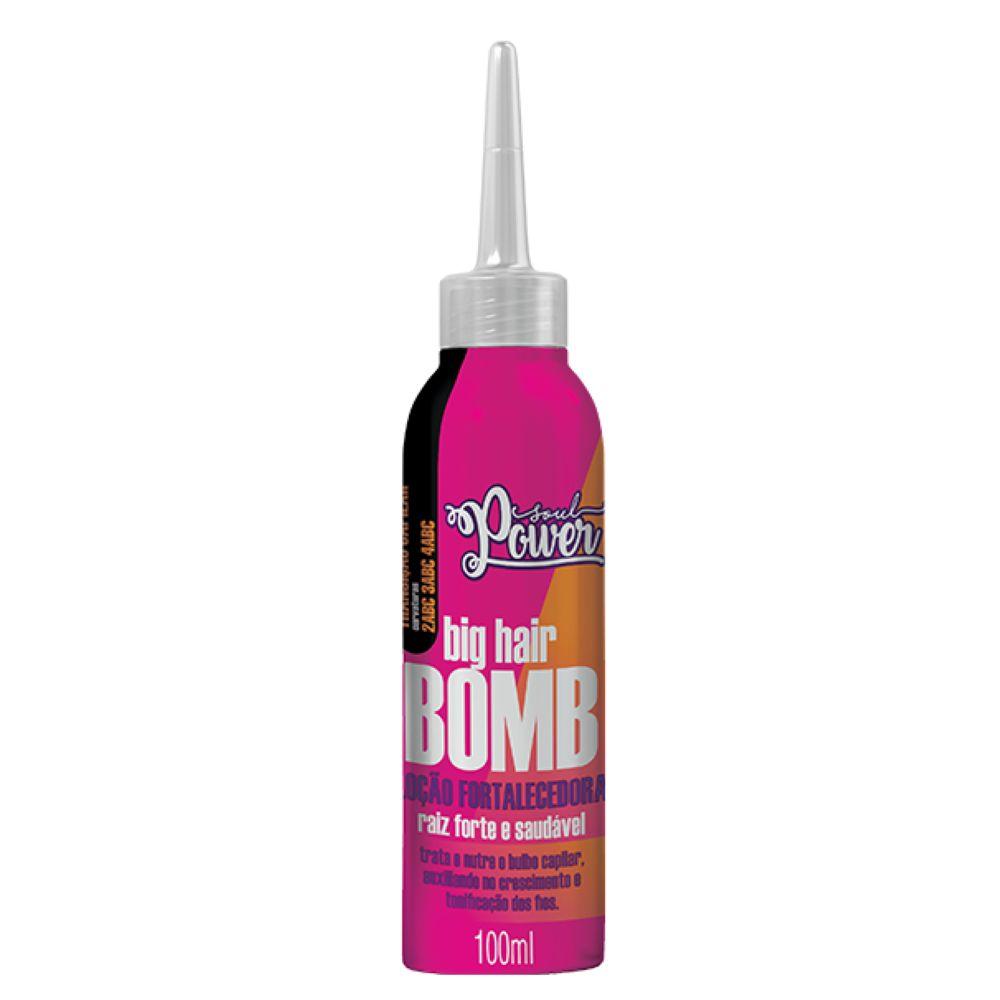 Loção Fortalecedora Soul Power Big Hair Bomb 100ml