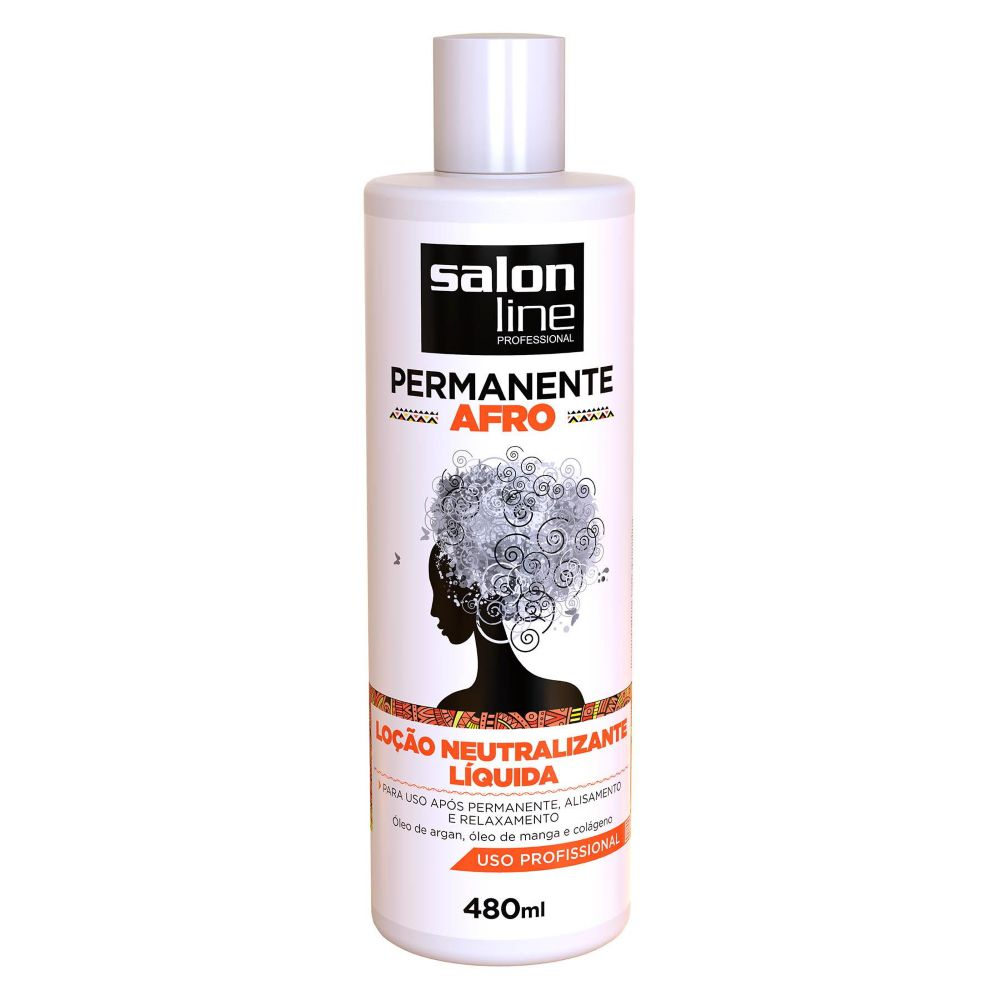 Loção Neutralizante Salon Line Permanente Afro 480ml