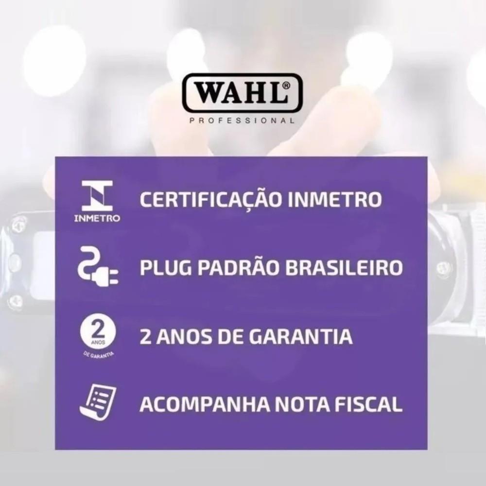 Máquina Magic Clip Cordless Black Gold Sem Fio Wahl  - Sofí Cosméticos