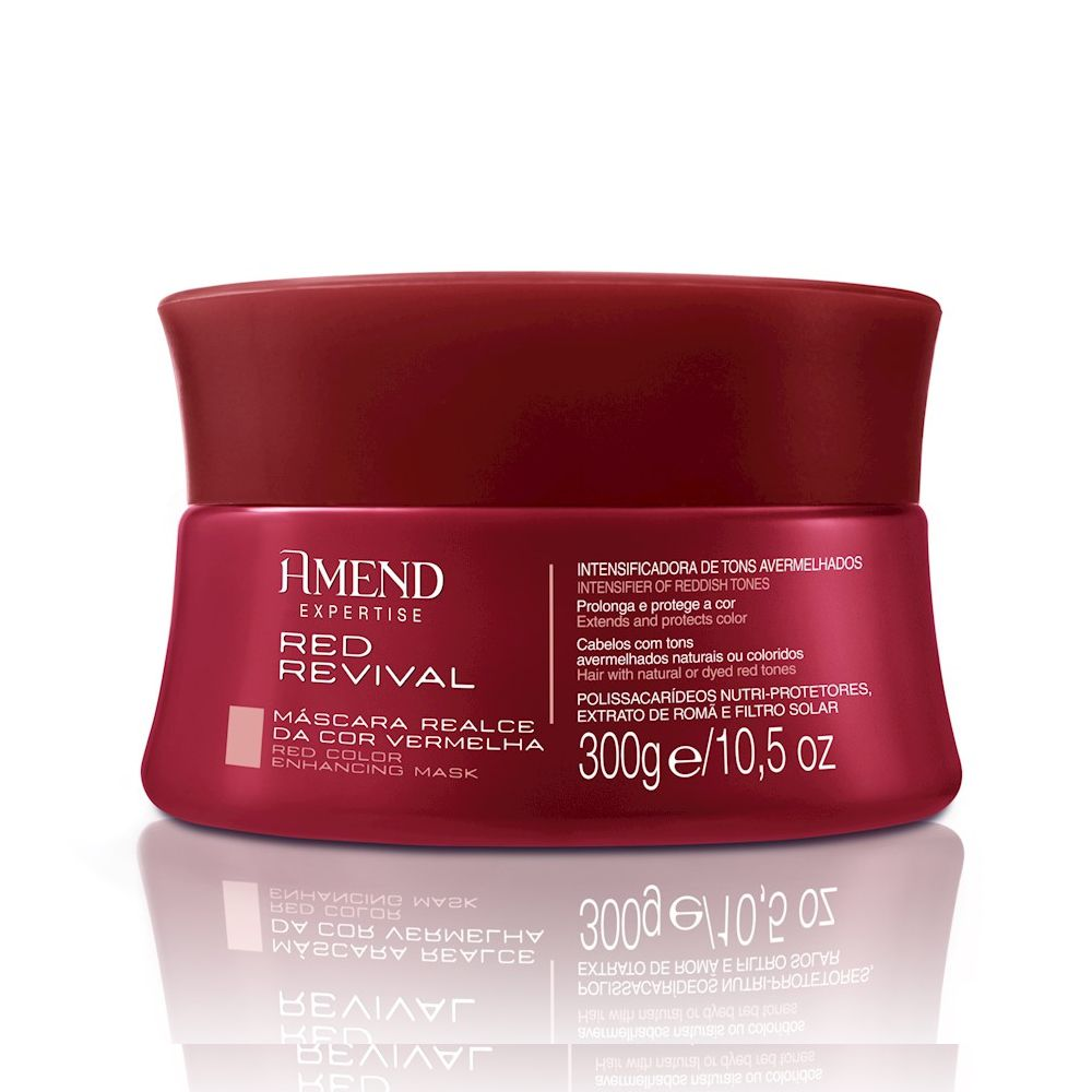 Máscara Amend Vermelha Red Revival 300G