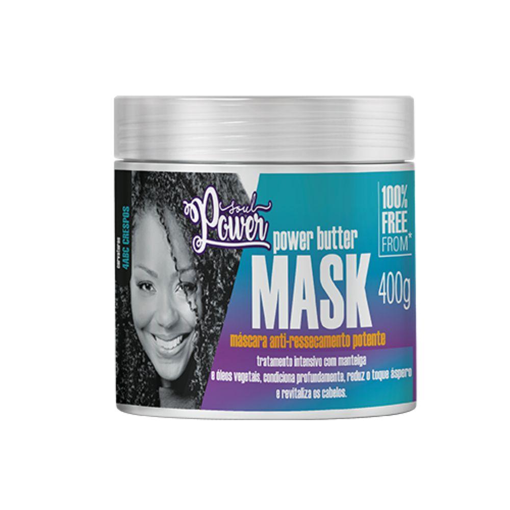 Máscara Anti-Ressecamento Soul Power Butter Mask 400g