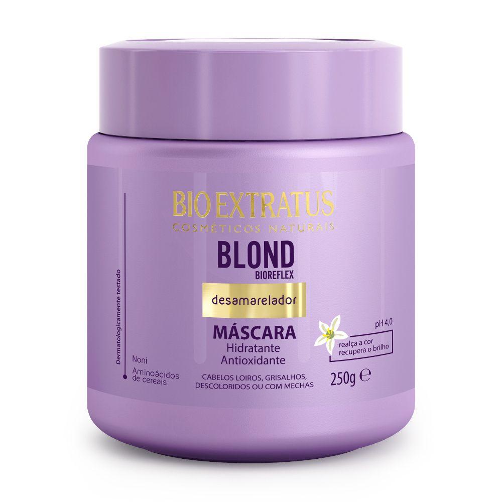Máscara Bio Extratus Blond Desamareladora 250g